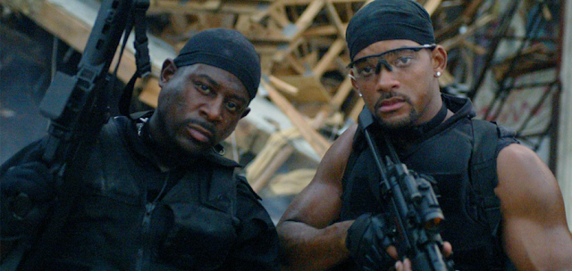 Martin Lawrence şi Will Smith în Bad Boys 2