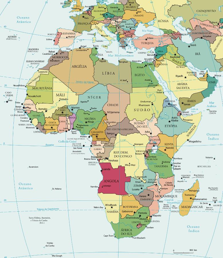 A Matemática no Continente Africano