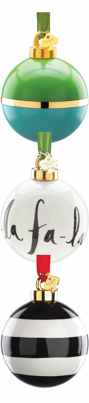 Kate Spade Assorted Ornaments