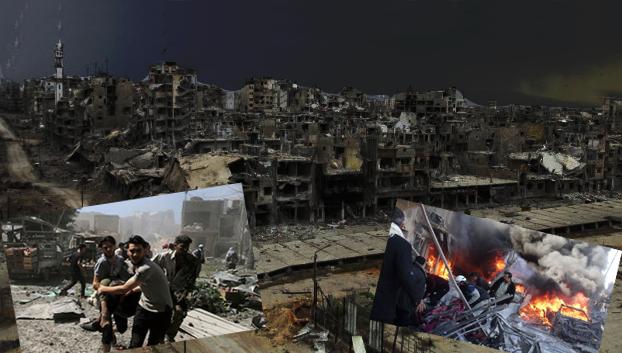 Suryah, Setiap Harinya Lebih Dari 20 Bom Jatuh Di Kota Aleppo