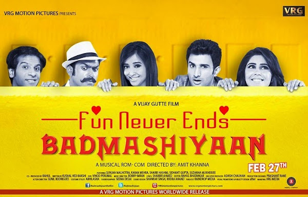 Badmashiyaan (2015) Movie Poster No. 4