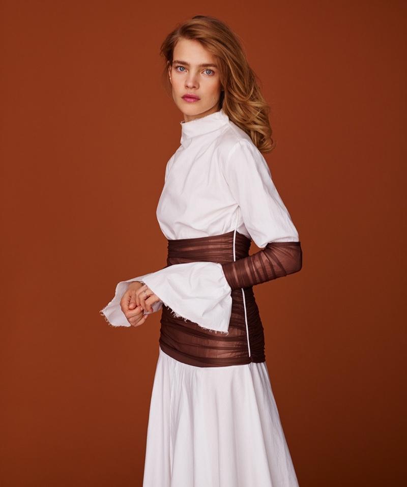 799b40e605f Chic and Silk: PHOTOSHOOTS: Natalia Vodianova on Harper's Bazaar ...