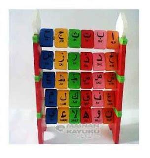 Mainan Edukasi Balok Hijayah