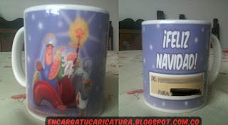 Mugs personalizados Navideños personalizados x Triana
