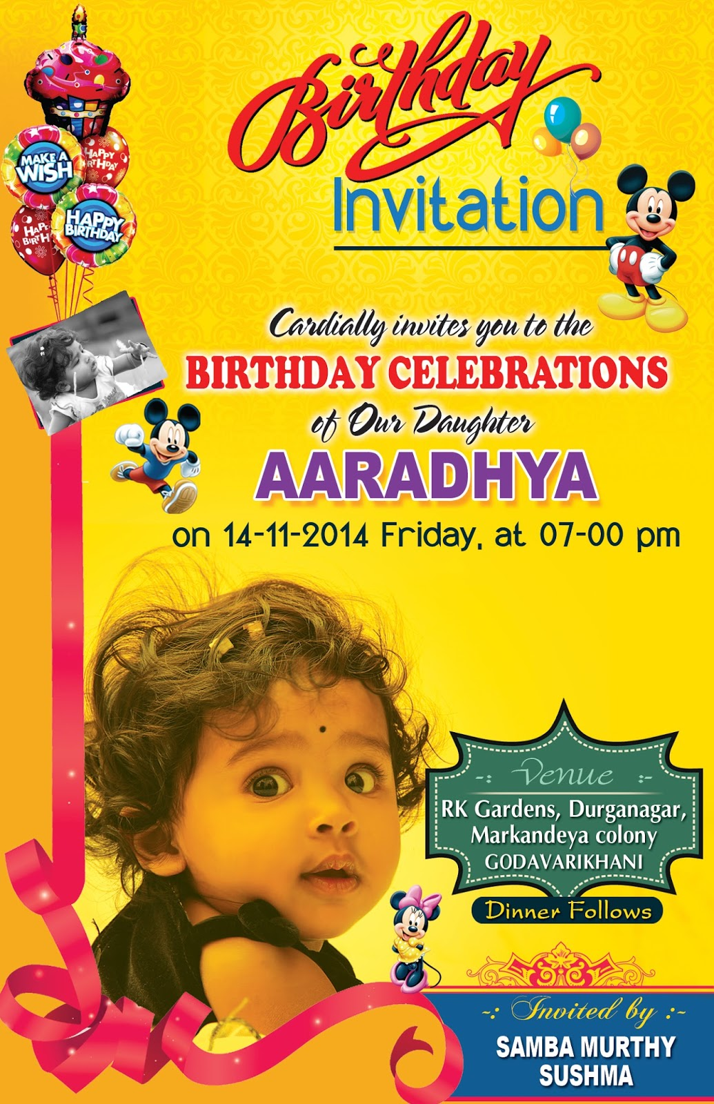 Invitation Card Design For Annaprashan In Bengali Create