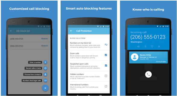 افضل تطبيقات و برامج حظر المكالمات لهواتف الأندرويد - تطبيق Mr.Number