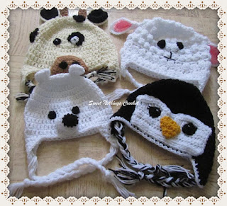 crochet beanie, cute animal crochet beanies