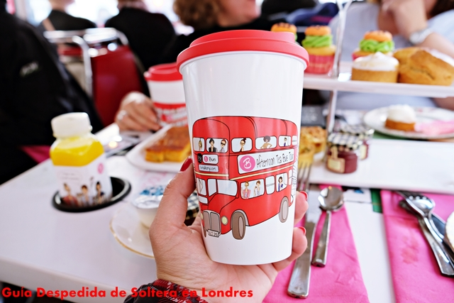 afternoon tea bus - guia despedida de soltera en londres
