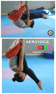 yoga aerien, enfants, yoga, kids, aerokids, yoga pour enfants, parents, stage, enseignants, formation professionelle, balancoire, hamac yoga, teacher training, fly, flying, gravity