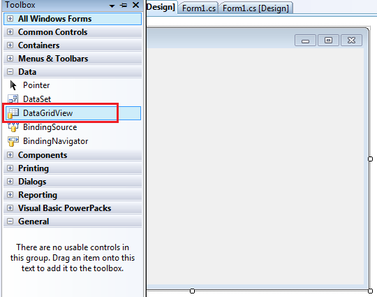 Bind Data to Datagridview in Windows Application in C#, VB
