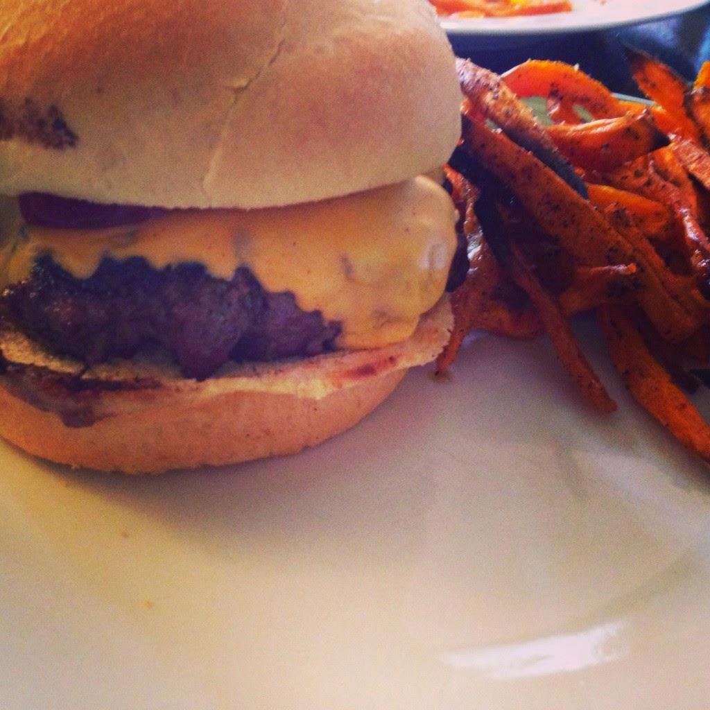Classic Bison Burger