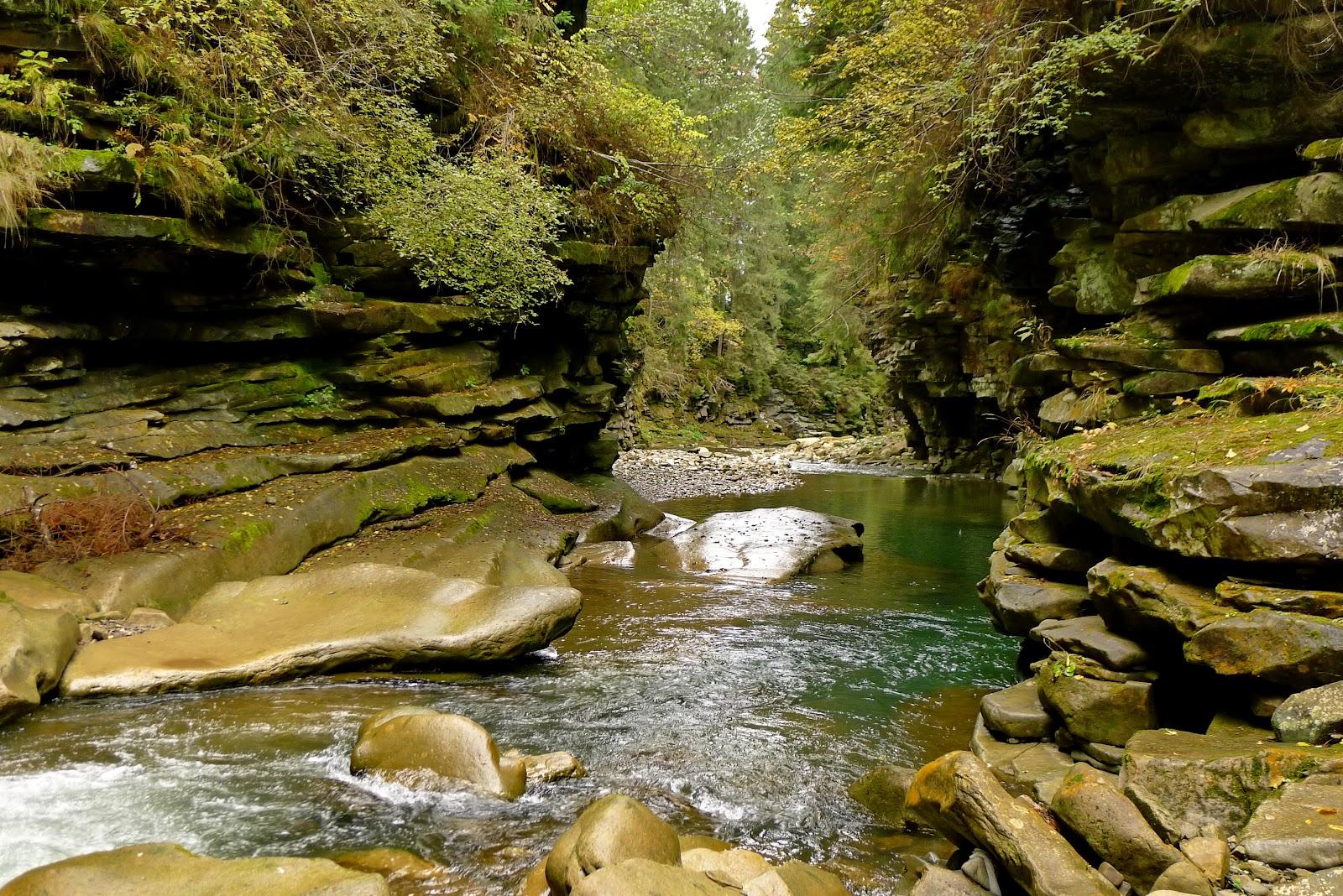 Результат пошуку зображень за запитом каньон реки прутец