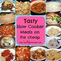 Tasty Slow Cooker Meals on the cheap