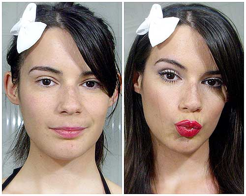 tutorial maquillaje noche principiantes monika sanchez