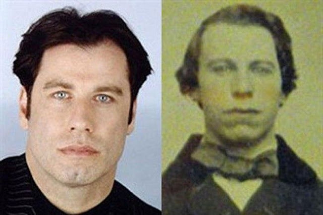 John Travolta and the man of 1860
