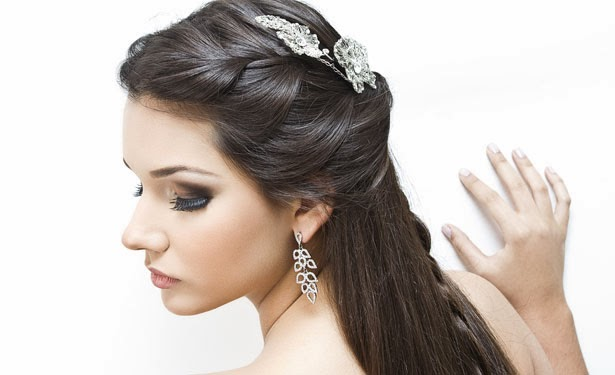 Penteados Para Cabelos Longos E Lisos Para Casamento