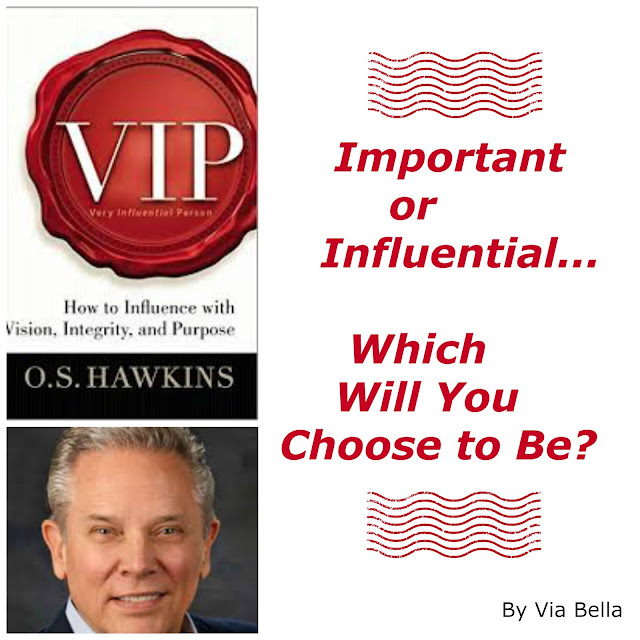 VIP, OS Hawkins, Important or Influential, Via Bella, Book Review