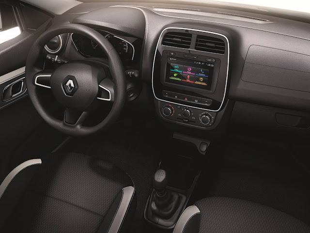 Renault Kwid - painel