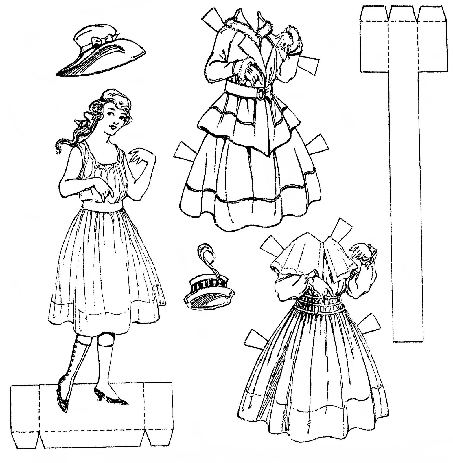 Mostly Paper Dolls Too!: 1916 Newspaper Paper Doll