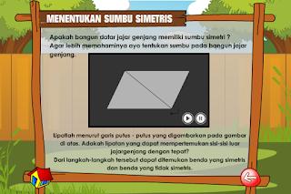 Bangun Datar Simetris dan Asimetris serta Menentukan Sumbu Simetris