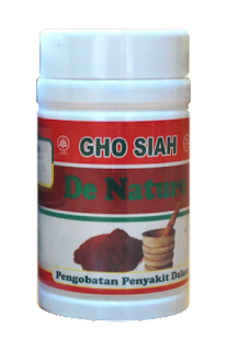 Obat Herbal Gho Siah De Nature Indonesia