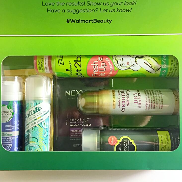 Walmart Beauty Favorites Box Refresh Renew Extend