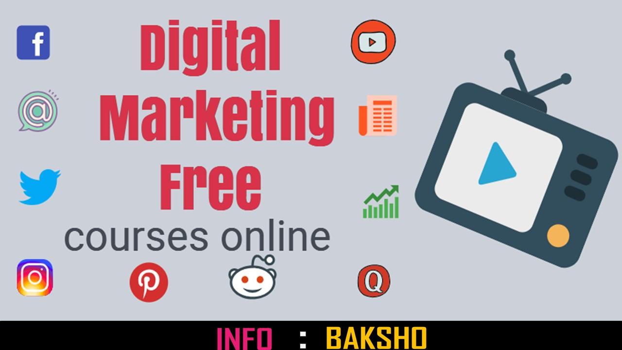 Digital Marketing Free Courses Online Certificate Training
