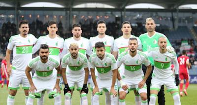 استعداد منتخب الجزائر لكأس أمم أفريقيا 2019  في الامارات