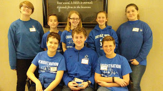 Montgomery Catholic Middle School Top 3 at MathCounts 2