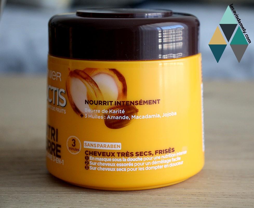 avis et test soin cheveux secs nourrissant fructis