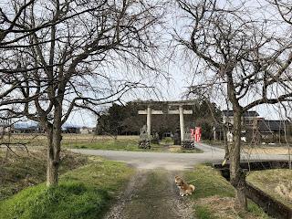 刀尾神社の二番目の鳥居
