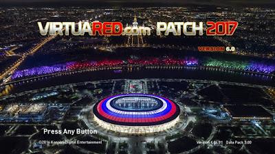 PES 2017 VirtuaRED.com Patch 2017 v6.0 AIO World Cup 2018 Edition