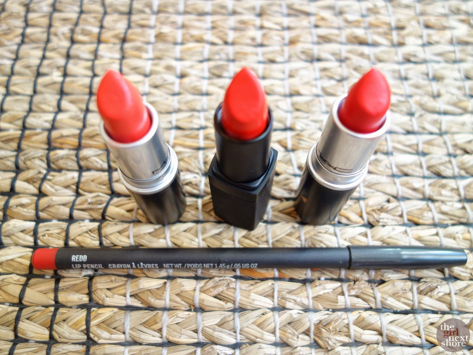 Lipstick Love: MAC Lady Danger, Dreaming Dahlia & Redd + NARS Heat Wave