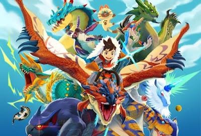 تحميل ومشاهدة الحلقة 1 من انمي Monster Hunter Stories: Ride On مترجم عدة روابط
