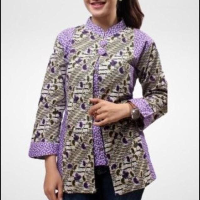 Model Baju Batik Wanita Gemuk Sedang Yang Cocok Untuk Tampil Elegan