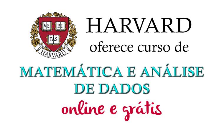 Harvard oferece curso de Matemática e Análise de Dados online e grátis