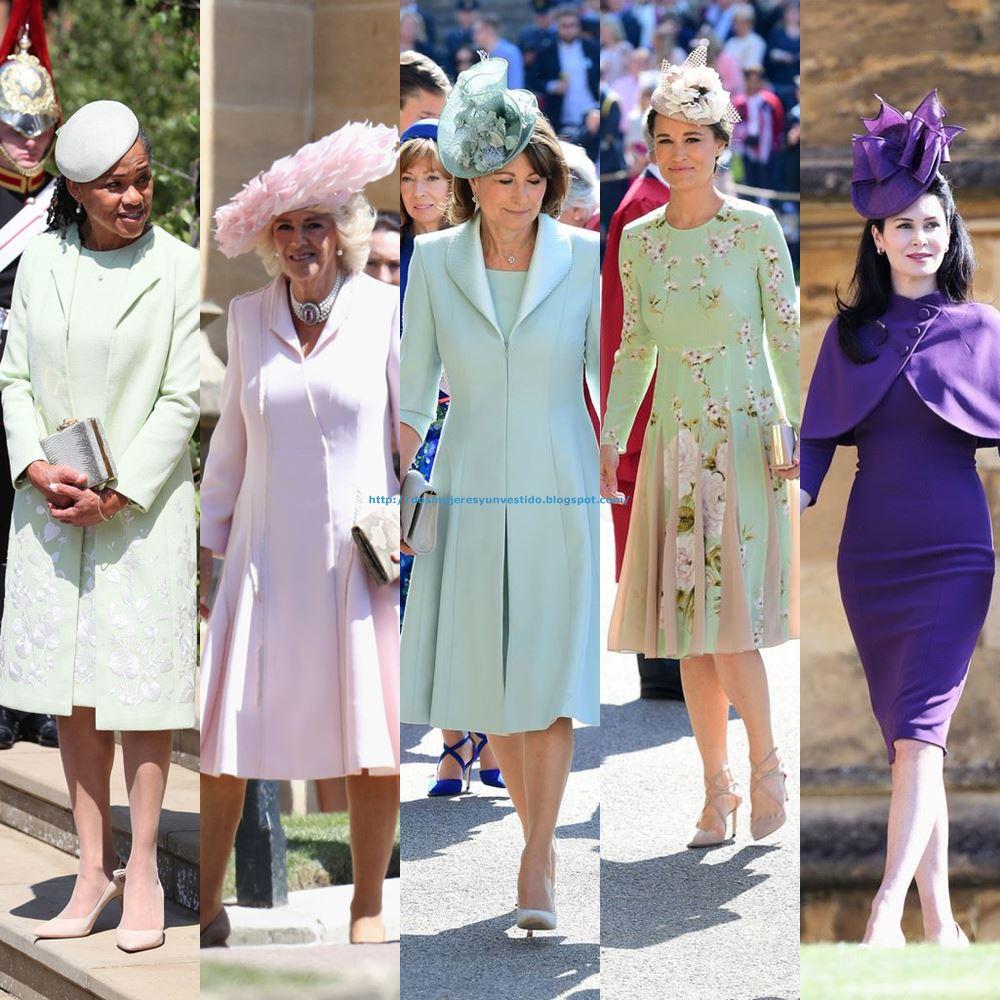 Los vestidos de la boda real de Harry y Meghan - Dos mujeres y un ...
