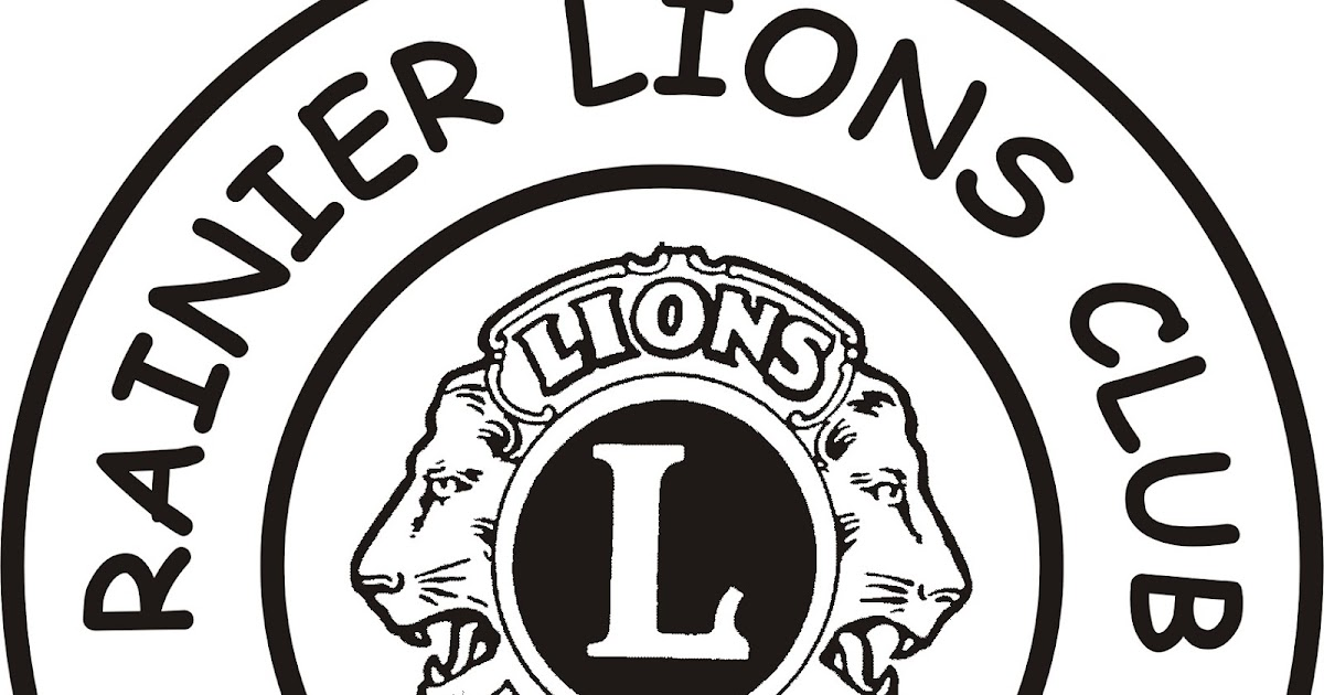 Rainier Lions Club: Rainier Lions Club Minutes for