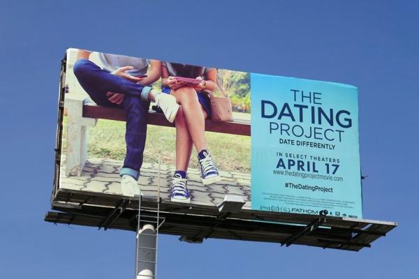 Dating Project documentary billboard