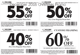 AC Moore coupons december