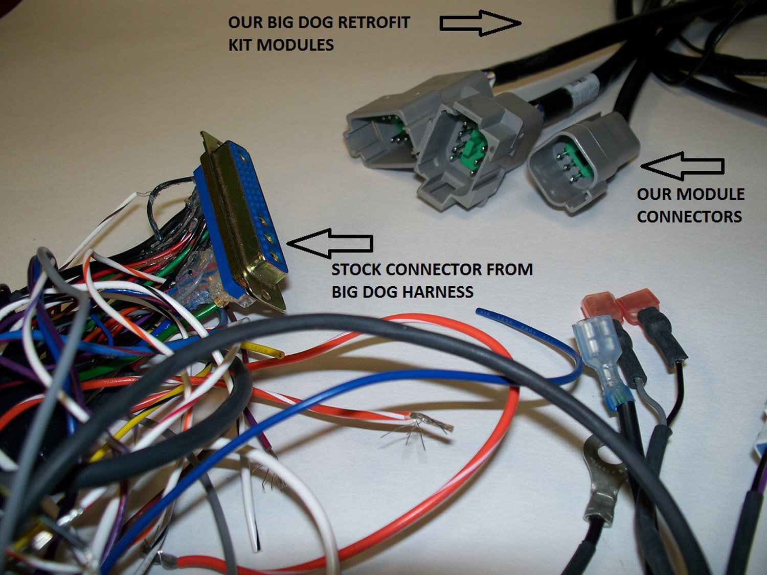 Simple Chopper Wiring Diagram On Big Dog Motorcycle Wiring Harness