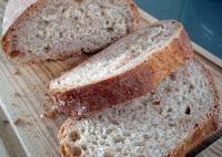 pan casero con corteza crujiente