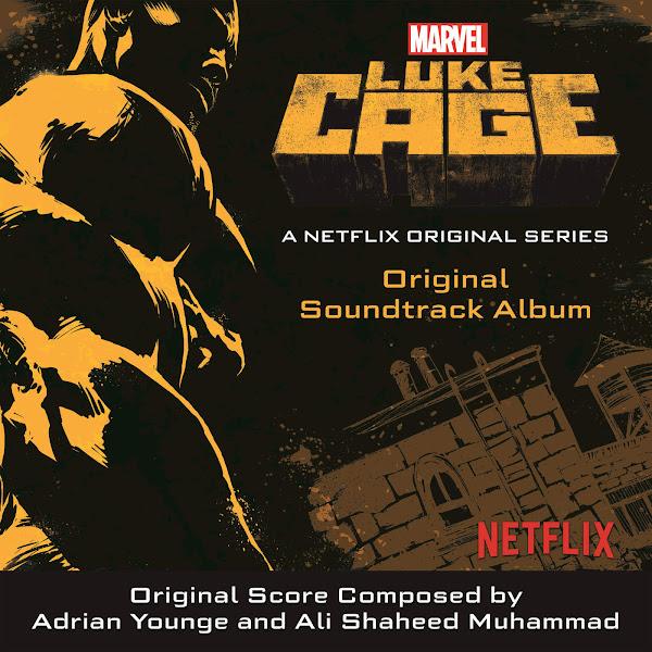 Various Artists - Luke Cage (Original Soundtrack Album) Cover