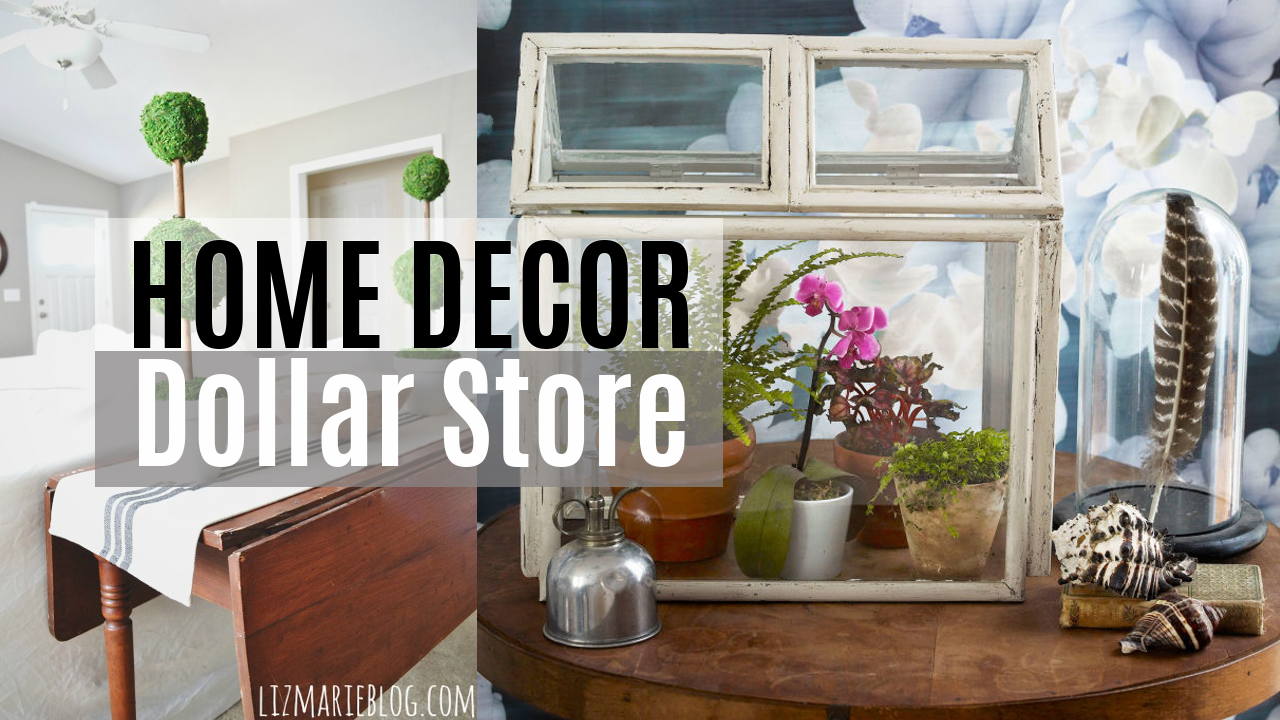 Inexpensive Home Decor Ideas From Dollar Store