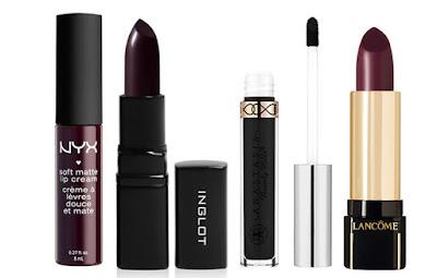 nyx, inglot, anastasia beverly hills, lancome lipstick