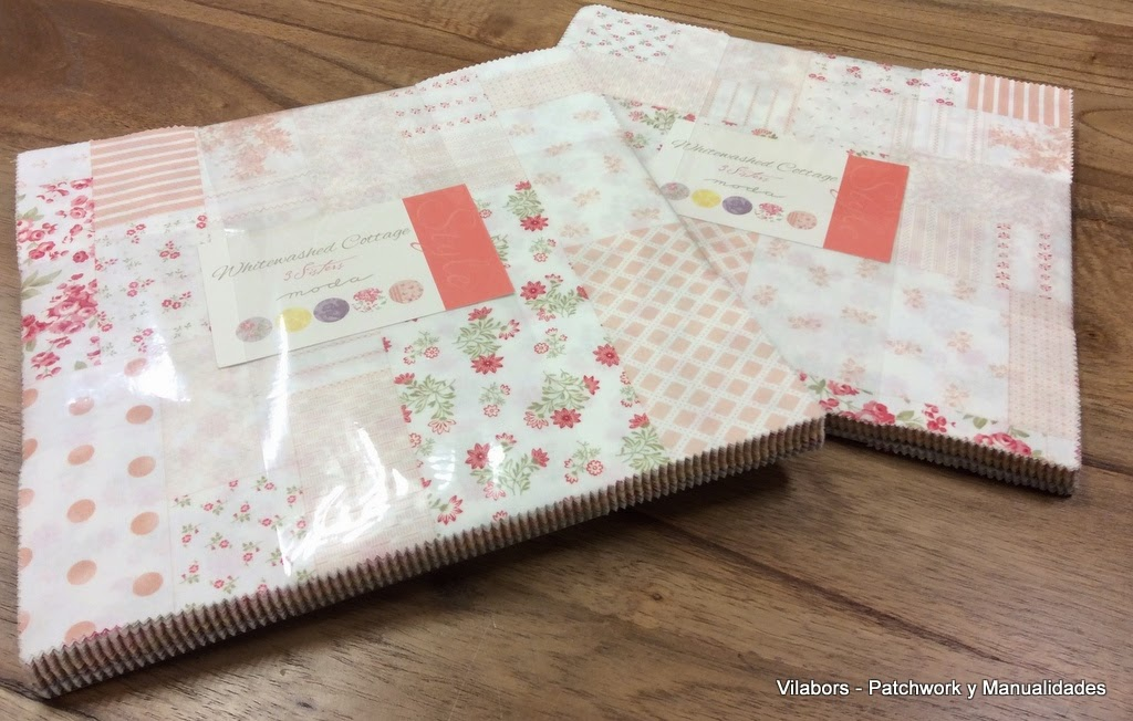 "Layer Cake ""Whitewashed cottage"" de Moda Fabrics - Patchwork Vilabors"