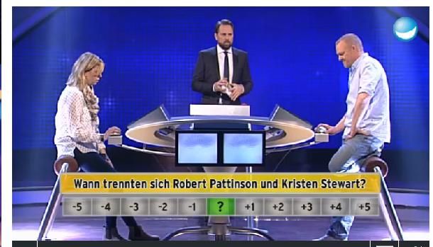 Stewart Pattinson Support Robsten Bei Schlag Den Raab 19