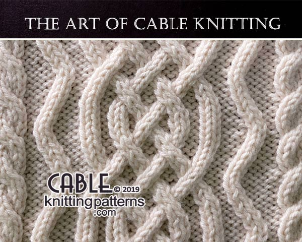 The Art of CABLE KNITTING -free pattern 02