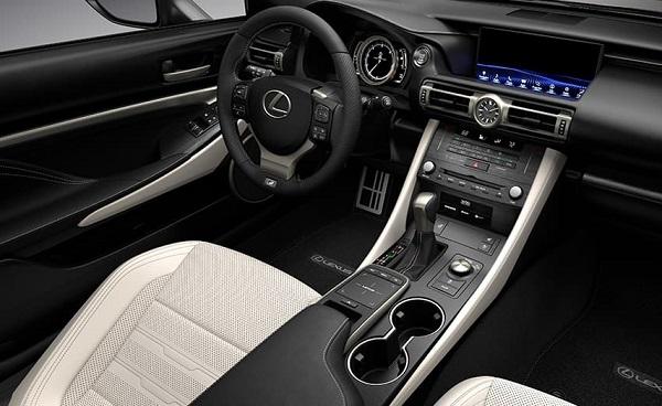 Interior Lexus RC 350 F-Sport