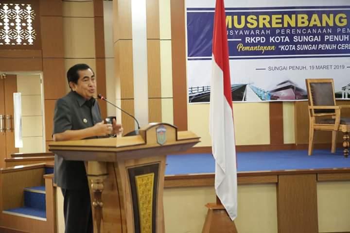 Prioritas 2020 :  PAD,  Pengentasan Kemiskinan,  Penanganan Banjir dan Penyelesaian TPA Regional